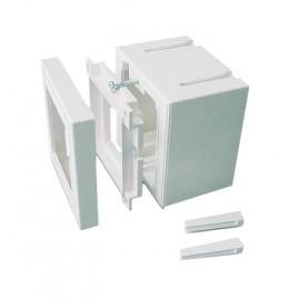 Boitier saillie pour plastron modulable - Prof utile 45mm