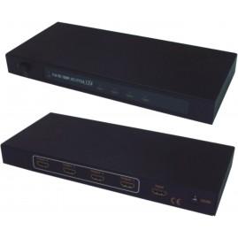 Splitter HDMI - 1 entrée / 4 sorties