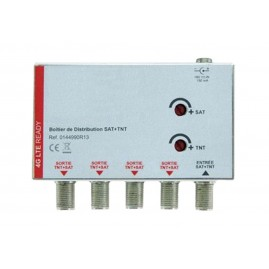 Ampli TV SAT+TNT sur Coax - filtre 4G intégré