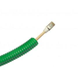 Préfilé Grade 3 - RJ45 Cat6A - câble 4P 900 MHz - Plastron 45x45 - 10m