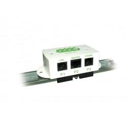 Filtre ADSL maître avec clip DIN