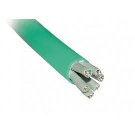 Câble 6x 4 paires Cat6A U/FTP - monobrin - LSOH