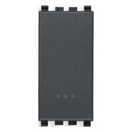 Interrupteur 1P 16AX gris