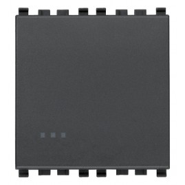 Interrupteur 1P 16AX 2M gris
