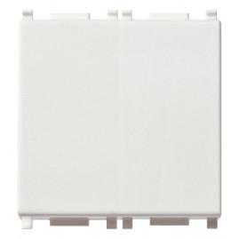 Interrupteur 1P 10AX 2M blanc