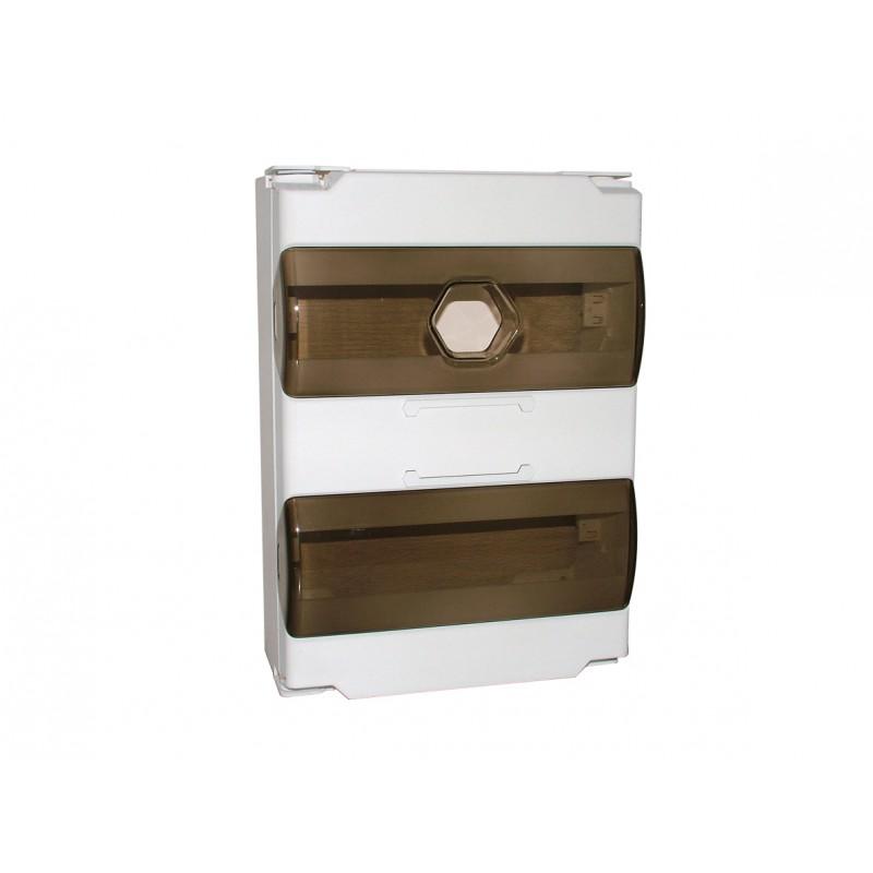 coffret de communication grade3 encastrable 4 rj45 cat6a ubiwizz. Black Bedroom Furniture Sets. Home Design Ideas