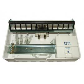 Coffret rénovation Grade1 (DTI+splitter TV+2 noyaux RJ45 Cat5E+support 12RJ)