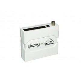 Boitier switch de distribution 4 sorties : TV-Ethernet-téléphone