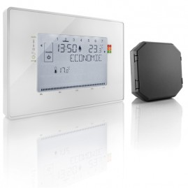 Thermostat radio fil pilote + récepteur UBID852401246 - Quickmove