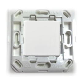 Inter EnOcean Plana SP - 1T blanc - support blanc - Quickmove