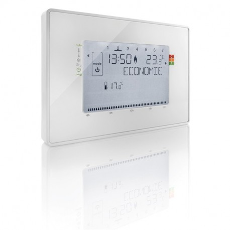 thermostat d ambiance chaudire gaz beok bot tactile cran lcd sans fil de chauffage thermostat. Black Bedroom Furniture Sets. Home Design Ideas