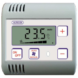 Thermostat format étroit (80x80)