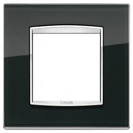 Plaque Eikon Classic 2M Glass noir ice