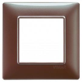 Plaque Plana 2M techn. marron iridescent