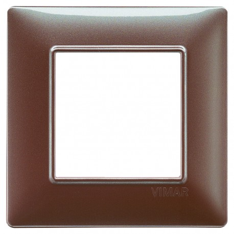 Plaque Plana 2M techn. marron iridescent