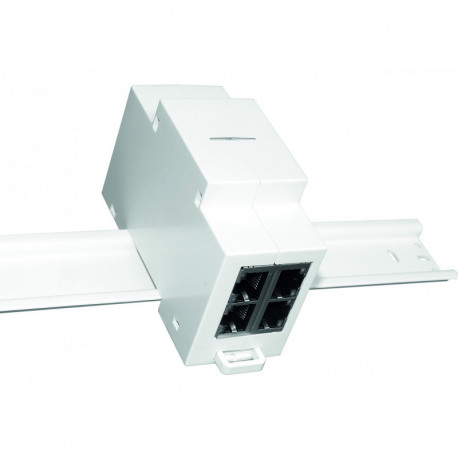 Switch Ethernet 10/100 Mbps 4 ports Raildin