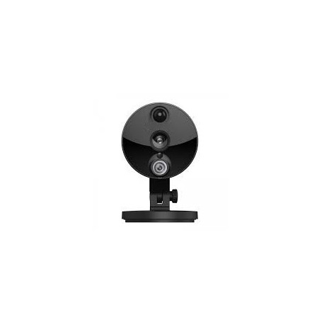 Caméra IP WiFi - intérieure, fixe, noire