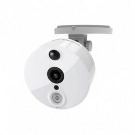 Caméra IP WiFi - intérieure, fixe, blanche