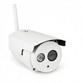 Caméra IP WiFi - extérieure, fixe, blanche