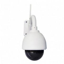Caméra IP POE - extérieure, dôme, blanche