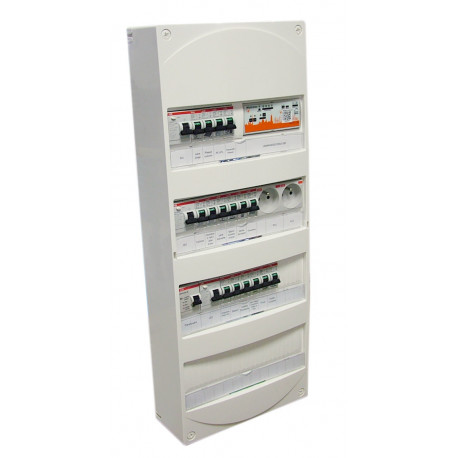 Tableau électrique - chauffage électrique T3