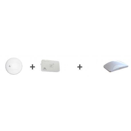 Kit sécurité - 1 UBILD001-QM + 1 UBID1220211-QM + 1 mini box Ubiwizz