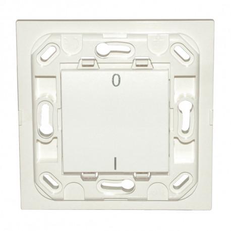 Interrupteur Eikon simple I/O - blanc - sans plaque