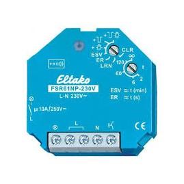 Actionneur radio télérupteur/relais, 1 NO non libre de potentiel, encastrable, 230V