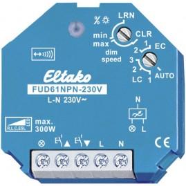 Actionneur radio, variateur R, L, C, ESL et LED, encastrable