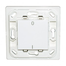 Interrupteur Plana simple I/O - blanc - sans plaque