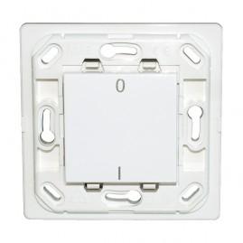 Interrupteur Plana simple I/O - blanc - sans plaque