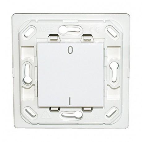 Interrupteur Plana double I/O - silver - sans plaque