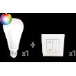 Kit ampoule connect et inter 1 VITB1002RGBW + 1 inter UBIFL010