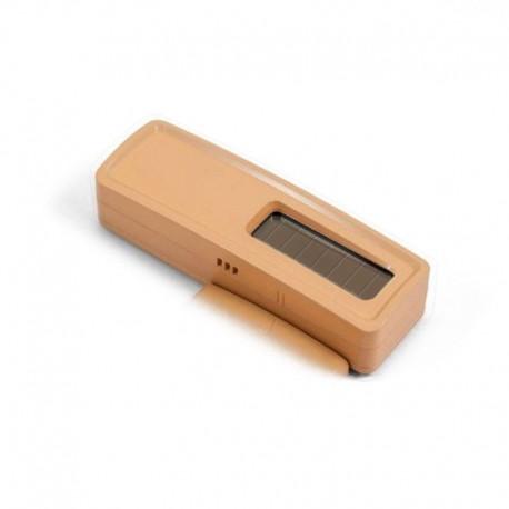 Sonde de température + hygro EnOcean - Option pile (non fournie) - bois clair - Quickmove
