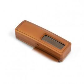 Sonde de température + hygro EnOcean - Option pile (non fournie) - bois foncé - Quickmove