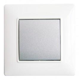 Inter EnOcean Plana SP - 1T silver - support blanc - Quickmove